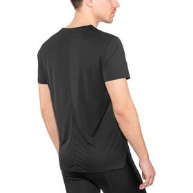 asics Silver Maillot manches courtes zippé Homme, performance black